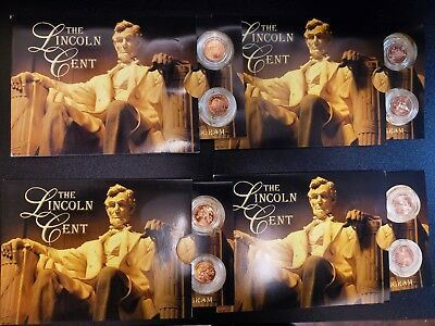 2009 The Lincoln Cents Bicentennial Program Issue 1-4 P & D  8 Coins Total