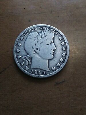 1914 P Barber Half Dollar Key Date Look Collection Listed Nrsv