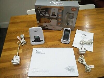Tommee Tippee Closer to Nature Movement and Sound DECT Baby Monitor