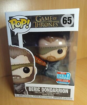 Funko pop Beric Dondarrion 65 Game of thrones nycc 2018  10/10