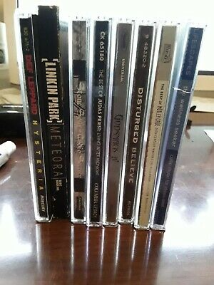 Metal CD Lot #4 (Great Bands/Great Titles) FAST S/H