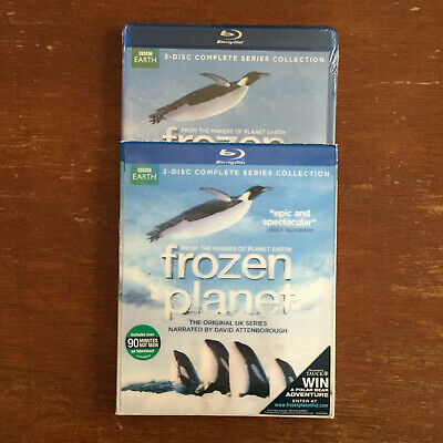 FROZEN PLANET COMPLETE SERIES COLLECTION (3-Disc Blu-Ray) BBC Earth - BRAND NEW!