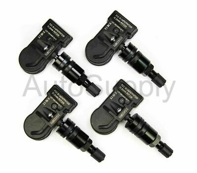 2009 Dodge Charger New TPMS Set Silver Stem 433 mhz 56029398AB 68406529AA
