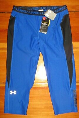 UNDER ARMOUR Coolswitch blue / black capri 1272141 YXL NWT / new