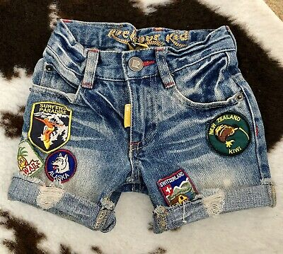 Rock Your Baby, Rock Your Kid Cool Toddler Shorts Size 1 (LIKE NEW!!)