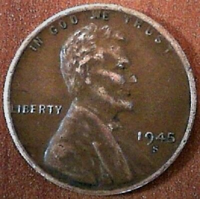 1945-S LINCOLN WHEAT Cent Variety (DDO?)