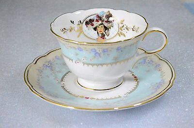 1998 Avon Honor Society by Nikko Mrs. Albee Cup and Saucer Set