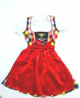 Girls,Kids,size 10, Germany,German,Trachten,May,Oktoberfest,Dirndl Dress,3-pc.US