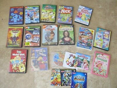 Big lot,20 childrens DVD's, movies, Blues Clues, Care Bears