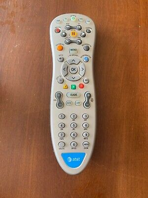 AT&T RC1535803/00 U-VERSE Uverse Cable Box & Universal Remote Control