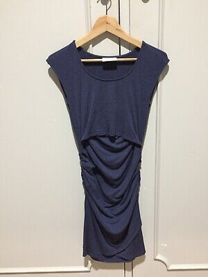 Pea In A Pod Bodycon Maternity Dress - Size 8