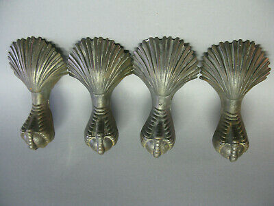 Bathtub Feet Heavy Cast Iron Old Ornate Claw Foot And Ball Set Of Four