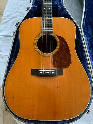 Martin 1969 manufactured   D-28 Used Acoustic Guitar
