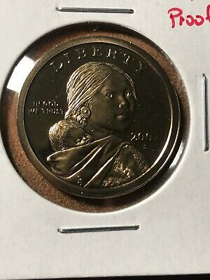 2002-S Proof United States Sacagawea Dollar $1 Coin Free Ship