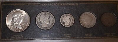 American Legacy Collector's Favorite Edition 5 Coin Set (Incl. 3 Silver Coins)