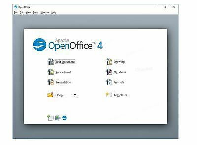 2019 Open Office Suite for Microsoft Windows for Home and Student CD Disc Word