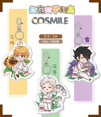 YAKUSOKU NO NEVERLAND The Promised Neverland Emma Norman Ray Keychain  Charms M