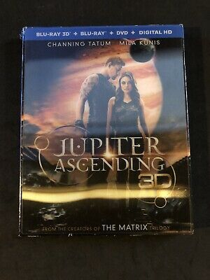 Jupiter Ascending 3D Bluray only. Includes case and Slipcover