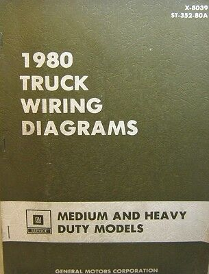 chevrolet 1980 truck wiring diagrams medium and heavy duty models  chevrolet 1980 truck wiring diagrams medium and heavy duty models