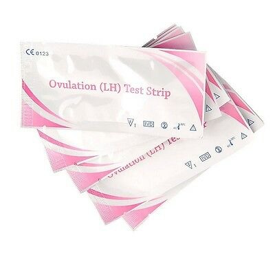 5-50Pc Pregnancy Ovulation Test Strips Ultra Early Urine Tests One Step Kit Home