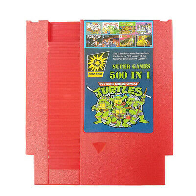 500 IN 1 Best Games Collection For Nintendo NES Classic Cartridge Super Games