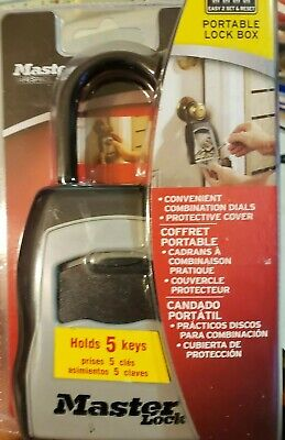 LOCK KEY STORG W/SHACKLE, Master Lock 5400D, UPC: 071649214516