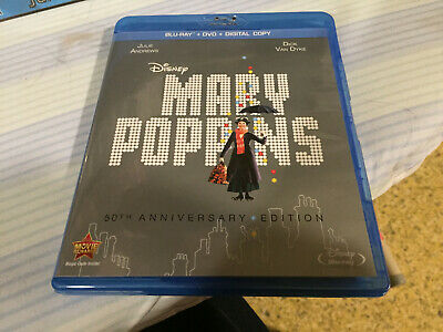 Mary Poppins 50th Anniversary Blu-ray With DVD