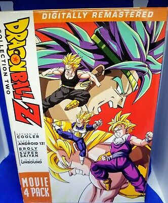 Dragon Ball Z: Movie Pack Collection Two (Movies 1-4 1992-1993) [4 Disc DVD]