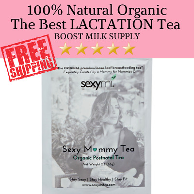Premium Organic Loose Leaf Lactation Tea Breastfeeding Tea BOOST milk supply!
