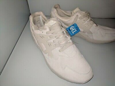 437096f12d0 ASICS GEL KAYANO Trainer Cream White Birch Suede Mono Low Top Lace  H7T2L-0202