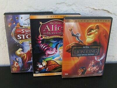 The Lion King (DVD, 2-Disc Set, Platinum Edition) Disney ~ Features All-New Song