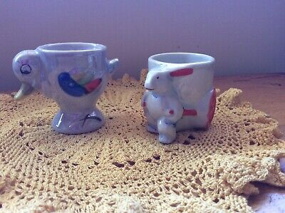 2 Vintage Style Egg Cups