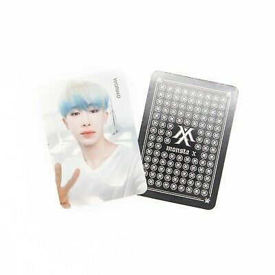 [MONSTA X] Take.2 'WE ARE HERE' Album Official Photocard - WONHO 6