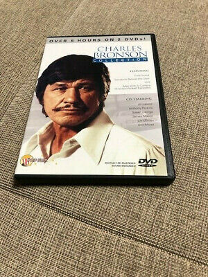Charles Bronson dvd - Man with a Camera, Cold Sweat, Lola - FREE world shipping