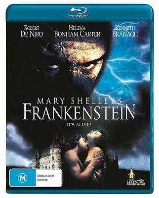 Mary Shelley's Frankenstein (Blu-ray, 2012)BRAND NEW & SEALED