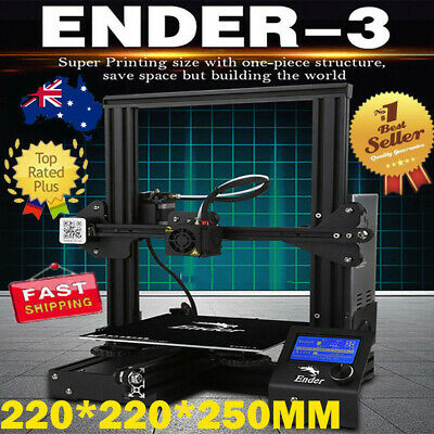 New Version Creality Ender 3 3D Printer With Removable Build Plate DC 24V 15A B2