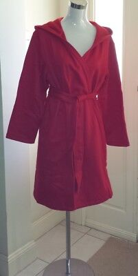 Ladies Winter Dressing Gown, Cotton Rich, Various Sizes Navy or Red RRP $79.95