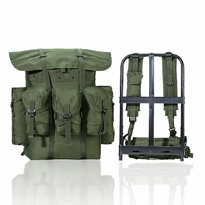 Military ALICE Pack Combat Field Pack Army Backpack with Straps&Frame Olive Drab