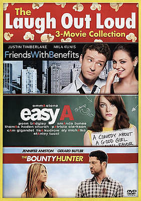 New - The Bounty Hunter/Easy A/Friends With Benefits (DVD) Free Shipping