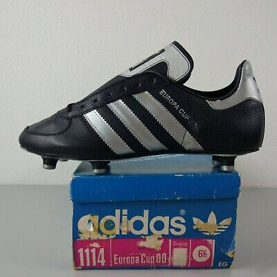 006aa14607345 ADIDAS EUROPA CUP 80 Made In West-Germany Cleats US 6 Vintage 1980 Rare ZX  8000