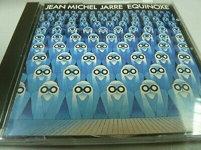 Jean-Michel Jarre ‎– Equinoxe 1978 1ST RARE WEST GERMANY RED POLYDOR TOP CD !