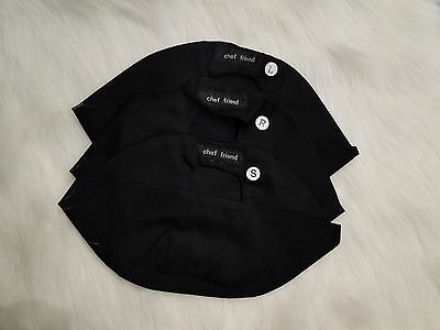 Chef Box Hat Black