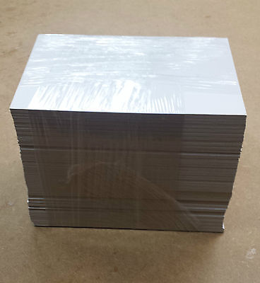 100 x 12x10 BACKING BOARDS - WHITE / RANDOM COLOUR - CLEARANCE - FREE DELIVERY