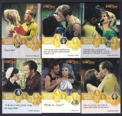 Star Trek Quotable Tos The Captain's Women Set