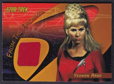 Star Trek Quotable Tos  Yeoman Rand Case Topper Costume Card C3
