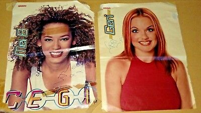 Spice Girls Posters A4 Mel B Scary Spice Geri Halliwell Ginger