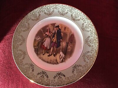 "cries of london plate  "" Lavender "" Satin White, Grindley, Staffs, Ironstone"