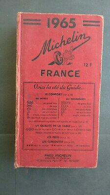 Guide rouge MICHELIN 1965