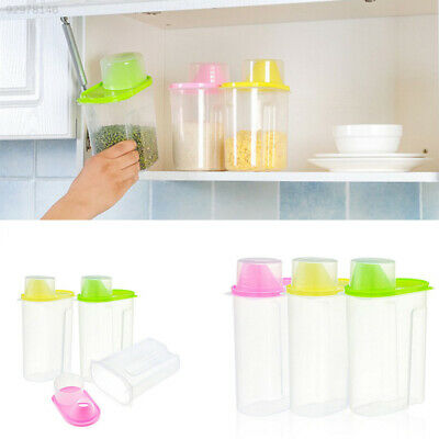 9E4B PP Tank Cereal Container Box Large Food Storage Container