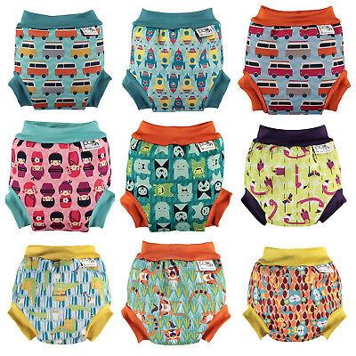 Swim nappy Close Parent Pop-In Birth 2 Years Flexible Soft Neoprene LAST FEW